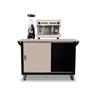 Boema Coffee Cart 1200 mm w x 600 mm d x 900 mm h