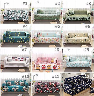 Elastic fitted stretch sofa covers sofa slip covers couch settee1 2 3 4 seater