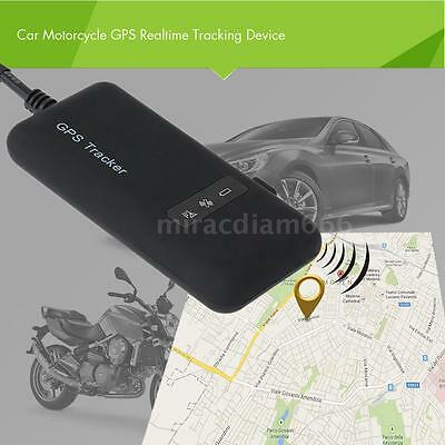 Realtime GPS Tracker Car Motorcycle Tracking Device System GPRS GSM Locator J8O5