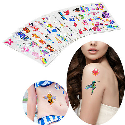 Glitter Tattoo Sticker Small Butterfly Princess for Child Kid Temporary Body Art
