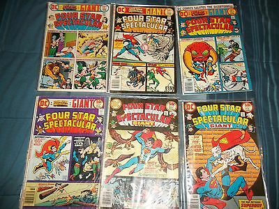 Lot of 6 DC Four Star Spectacular 1 2 3 4 5 6 Complete