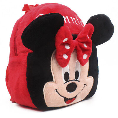 Minnie Mouse Backpack Cartoon Plush  Bag Lovely Girls Gift
