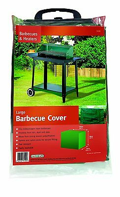 Gardman Large Barbecue Grill Cover 110x40x90cm Rain Snow Resistant Protector