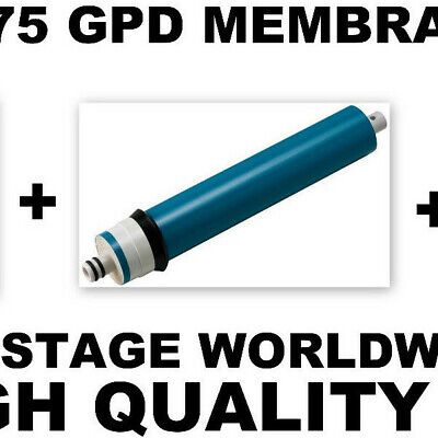 3 x 75 gpd Reverse Osmosis RO Membrane Filter WATER PURIFIER/AQUARIUM/KITCHEN @3