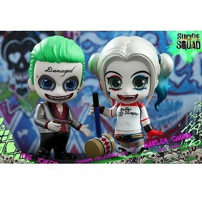 Suicide Squad The Joker and Harley Quinn Action Figure 10cm PVC Statue Chinese