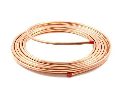 Flexible Copper Tube Coil 50 meters Heating Soft Tubing Minibore Water Pipe