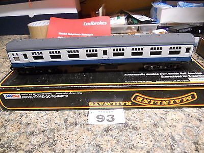 Mainline BR Mark 1 SK 2nd Class Coach Blue/Grey (37-103) (Grade A) (93)