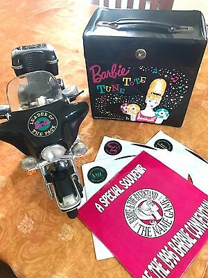 VVHTF Bandstand Beauty Barbie Convention Tote & Motorcycle