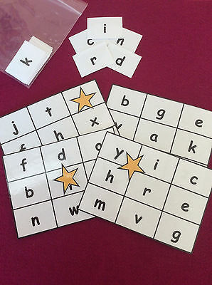 Alphabet Bingo - schools, nursery, learning