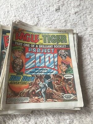 85 Eagle comics from Jan 1986 to Aug 1987. bulk rare vintage magazine