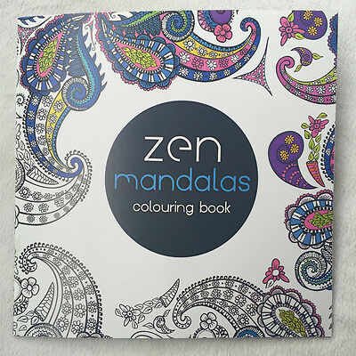English Children Secret Garden mandalas Treasure Hunt Coloring Painting Book
