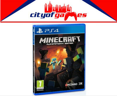 MineCraft PS4 Game New & Sealed Free Express Post In Stock