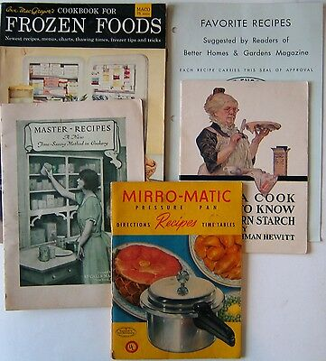 5 Vintage Cookbooks