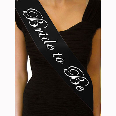 Bride to Be Sash/Bachelorette Wedding/Bridal Party Supply Sashes