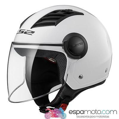 Casco LS2 AIRFLOW L OF562 Solid White