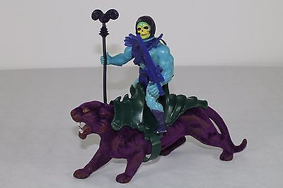 Skeletor & Panthor -1982/Taiwan/France- (Masters of the Universe) 100% komplett