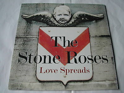 """The Stone Roses     Love Spreads     UK   7""""     GFS 84   Near Mint"""