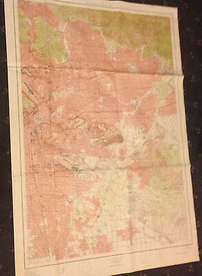 Large East Los Angeles & Vicinity Geological Survey Map