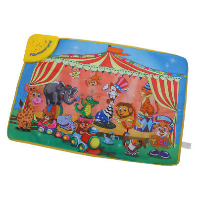 Kids Educational Toy Multifunction Game Mat Carpet w/Musical & Animal Sounds