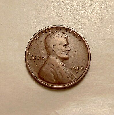 """1909-S Lincoln Cent - Scarce """"KEY"""" Date - Very Nice Coin"""