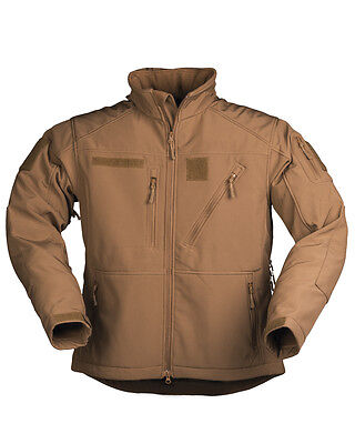 Forro Polar Impermeable Color Coyote Militar,caza,pesca,senderismo,outdoor