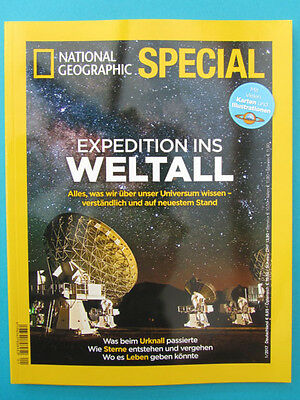 National Geographic SPECIAL 1/2017  Expedition ins Weltall  ungelesen 1A abs.TOP