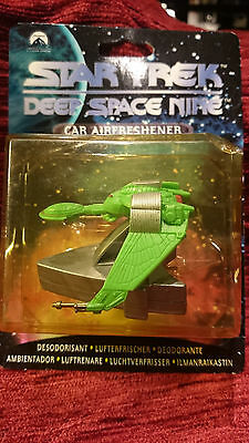 "Star Trek Car Airfreshener Deep Space Nine ""Klingon Bird of prey""1997 ungeöffnet"