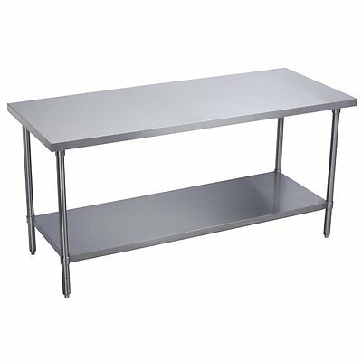 "DuraSteel Stainless Steel Food 30"" x 30"" x 34"" Commercial Work Table Brand New"