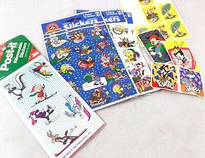 wb Christmas Stickers Assorted  ALL TOONS  Warner Brothers Looney Tunes Bros