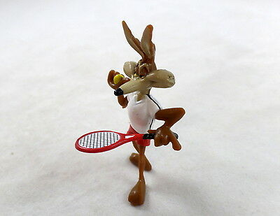 Wile E. Coyote PVC MINIATURE wb Figure Warner Brothers Looney Tunes Tennis