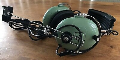 David Clark Aviation Headset H10-30 with Volume Control EXCELLENT CONDITION