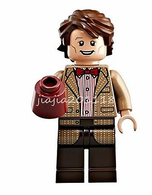 Mini Figures The Eleventh Doctor Matt Smith Doctor Who Collectible Building Toys
