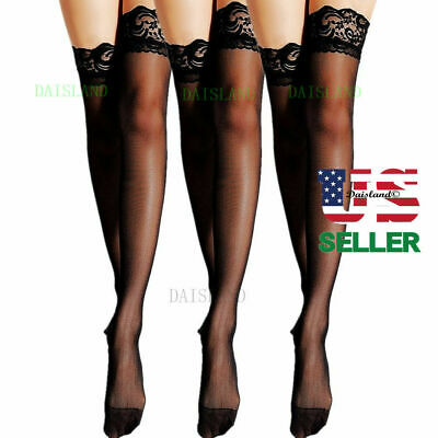 Women Stockings Socks Tights New Hosiery Sheer Pantyhose Nylon Hold Up Plus Size