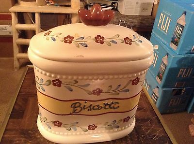 Biscotti Ceramic jar homemade for Nonni's