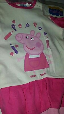 Baby  toddler girls outfit / set  peppa pig 18, 24 & 30 months