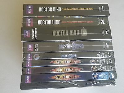 DOCTOR WHO Complete Series:SEASONS 1 2 3 4 5 6 7 8 9, DVD, FREE SHIPPING, NEW.