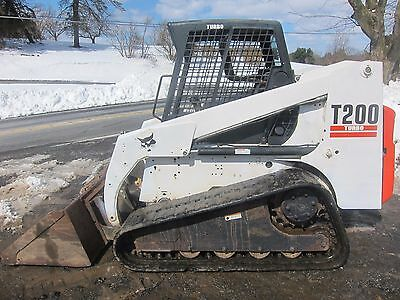 BOBCAT T200 COMPACT TRACK LOADER  SKID STEER 2400hrs (tags 864 t180 t190 t300)
