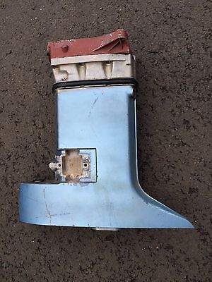 "1973 Johnson / Evinrude 65 HP 20"" Transom Exhaust Housing Mid-Section 318181-D2"