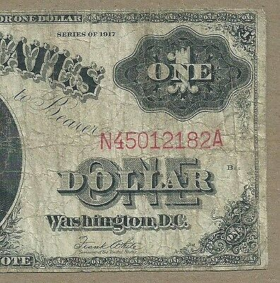 1917 $1 Us Note         Very Cheap            Legal Tender