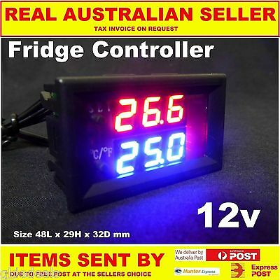 12v DIGITAL CAR FRIDGE TEMPERATURE CONTROLLER THERMOSTAT RELAY WAECO PRIMUS