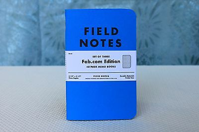 Field Notes Blue Fab Edition (2011) Notebook 3-Pack