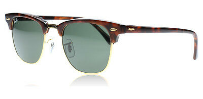 Ray-Ban Sunglasses RB 3016 Clubmaster WO366 Tortoise Brown 51/21/145
