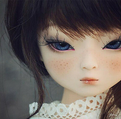 BJD 1/4 Doll lovely Gril Dami (Elf eyes head ver)  with free eyes +face make up