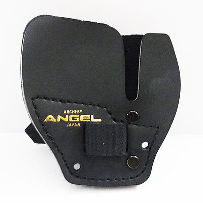 Angel Archery Finger Tab I, Super Fine Leather With Spacer ATSI