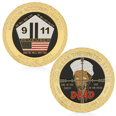 God Bless The United States 911 Attack Commemorative Coin Collectible Challenge