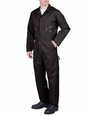 New Dickies Black Long Sleeve Deluxe Blended Coverall Jumpsuits Workwear 48799