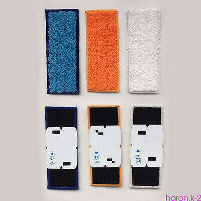3x Mopping Pads Washable Damp & Dry Mop Replacement For iRobot Braava Jet 240 DT