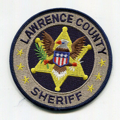 Lawrence County Mississippi Sheriff Patch <---> FREE US SHIPPING!