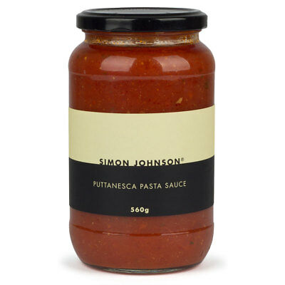 NEW Simon Johnson Puttanesca Pasta Sauce 560g