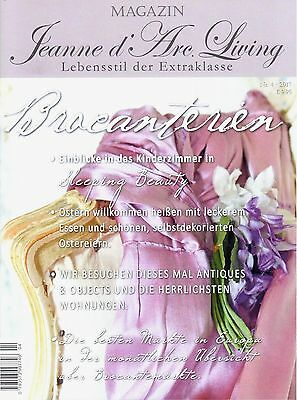 #10689 Jeanne d'Arc Living Lifestyle Vintage Magazin JDL April 4 - 2017 Brocante